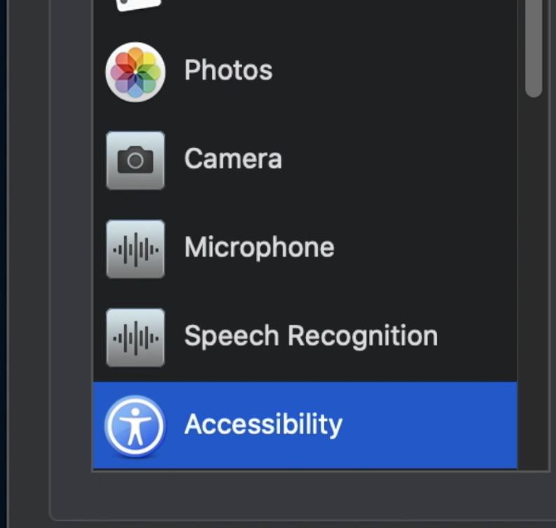 Apple - Security and Privacy - Accessibility
