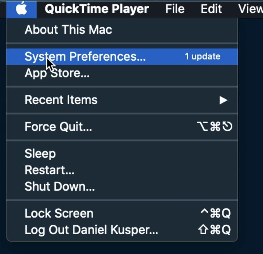 Apple - System Preferences