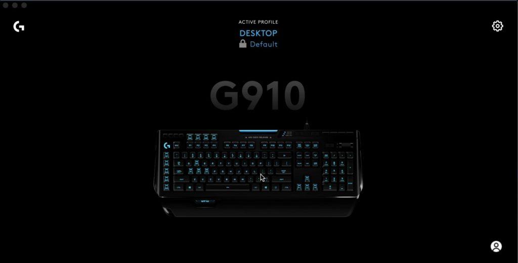 GHUB - Keyboard Connected