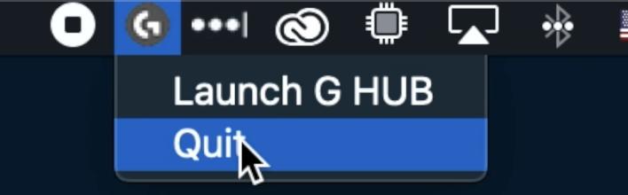 GHUB - Menu - Quit